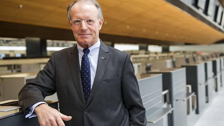 Thomas E. Kern wird neuer Verwaltungsratspräsident von Panalpina (Archivbild).