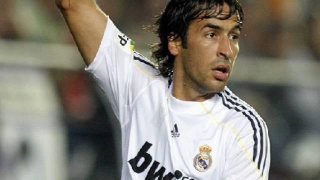 Stürmer-Star Raul bestritt schon 524 Liga-Spiele für Real Madrid