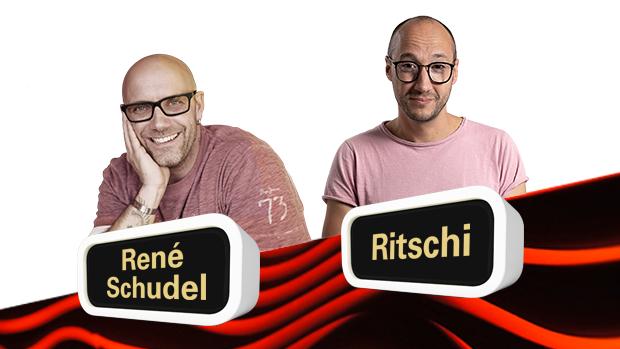 On Air René Schudel und Ritschi