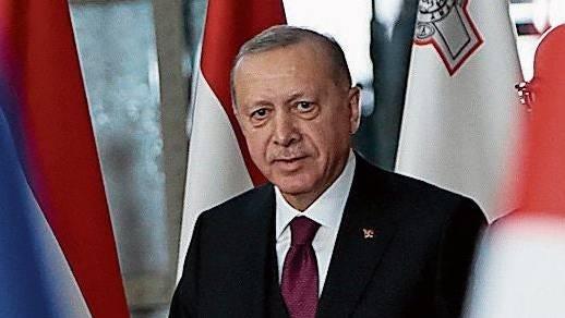 Recep Tayyip Erdogan gestern in Brüssel.