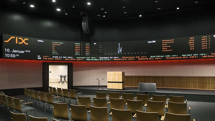 SIX-Präsident Romeo Lacher fürchtet, dass Börsen-Schwergewichte an andere Handelsplätze wechseln würden, wenn die EU die Schweizer Börse nicht dauerhaft als gleichwertig anerkennt. (Themenbild)