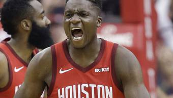 Clint Capela gleicht mit den Houston Rockets die Viertelfinal-Serie gegen Titelhalter Golden State zum 2:2 aus
