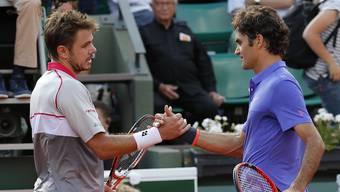 Das Schweizer Duell in Paris: Roger Federer - Stan Wawrinka, die bisherigen Grand-Slam-Duelle