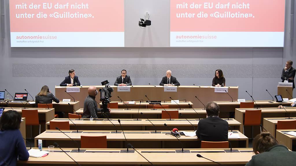 Wirtschaftsvertreter verlangen besseres Rahmenabkommen