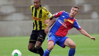 Deni Kadoic (rechts) könnte bald den Sprung in den Schweizer Profifussball schaffen.