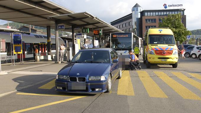 Die deutsche Lenkerin übersah die Frau auf dem Zebrastreifen.