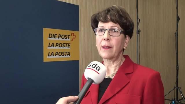 «Wir bezahlen das Geld zurück»: Das sagte Post-Chefin Ruoff am 6. Februar 2018.