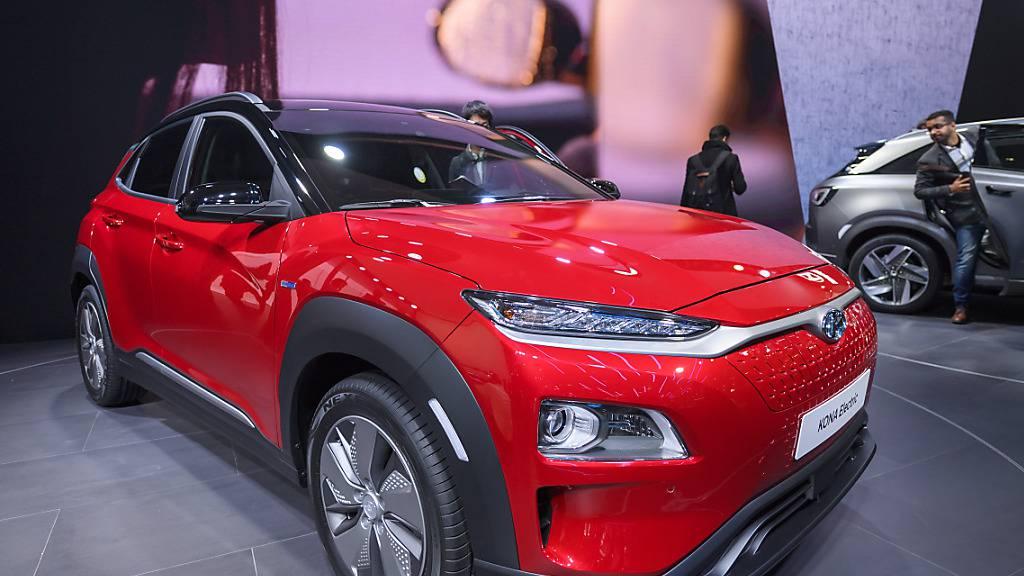 Der südkoreanische Autokonzern Hyundai hat 2020 weltweit deutlich weniger Autos verkauft als erhofft. Im neuen Jahr will Hyundai aber wieder Wachstum erzielen.(Archivbild)