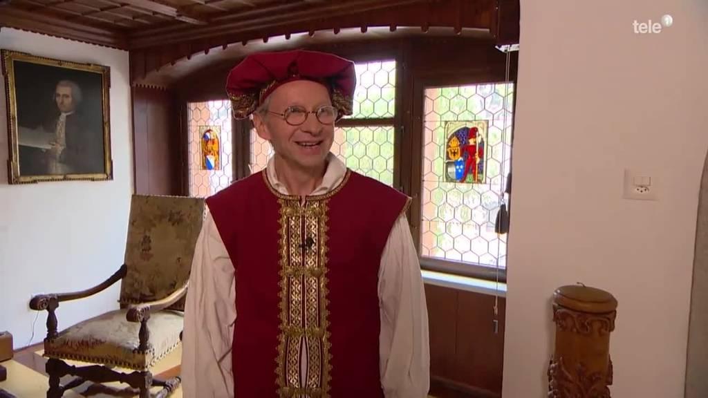 Ernst Köpfli hat sein Elternhaus in ein Schloss umgewandelt