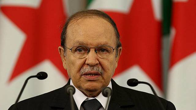 Der algerische Präsident Bouteflika