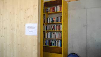 Der offene Bücherschrank in Langendorf
