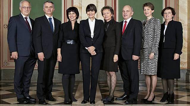 Die amtierenden Mitglieder des Bundesrats sollen vor Strafverfolgung geschützt bleiben, wenn es nach dem Willen des Ständerats geht (Bild: Bundeskanzlei/Monika Flückiger)