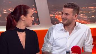 «Bachelor» Janosch Nietlisbach und seine Auserwählte Kristina Radovic machen in der Sendung «TalkTäglich» reinen Tisch. Die besten Momente im Zusammenschnitt.
