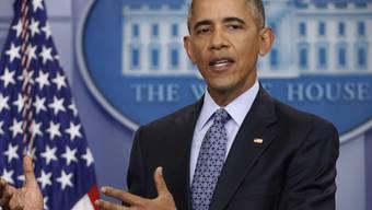 Ex-Präsident Barack Obama hat familiäre Wurzeln im Freiburger Seeland, in Ried bei Kerzers, und er weiss davon. Besucht hat er Ried bisher nicht. (Archiv)