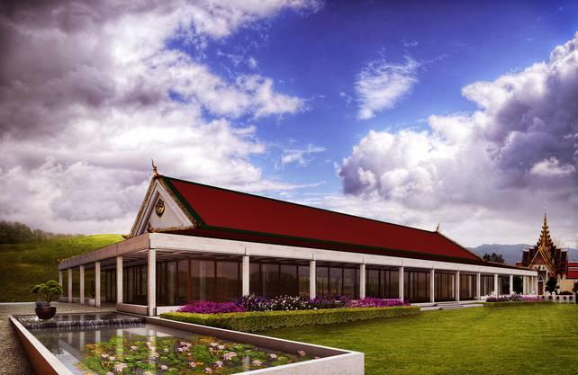 Rund 1200 Gäste sollen darin Platz finden. Die Stiftung lässt sich das Projekt rund 13 Millionen Franken kosten.