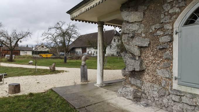Henzihof und Lusthäuschen in der Solothurner Weststadt