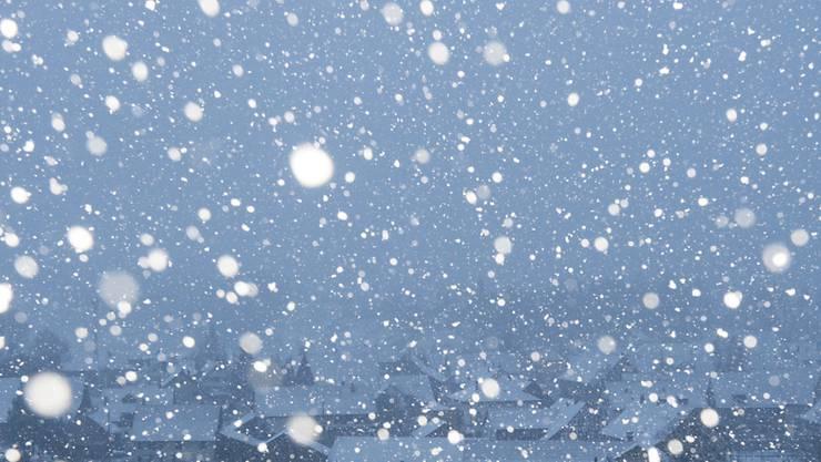Am frühen Morgen fing es an zu schneien. (Archiv)