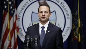 Generalstaatsanwalt Josh Shapiro informierte über den aktuellen Stand der Ermittlungen.