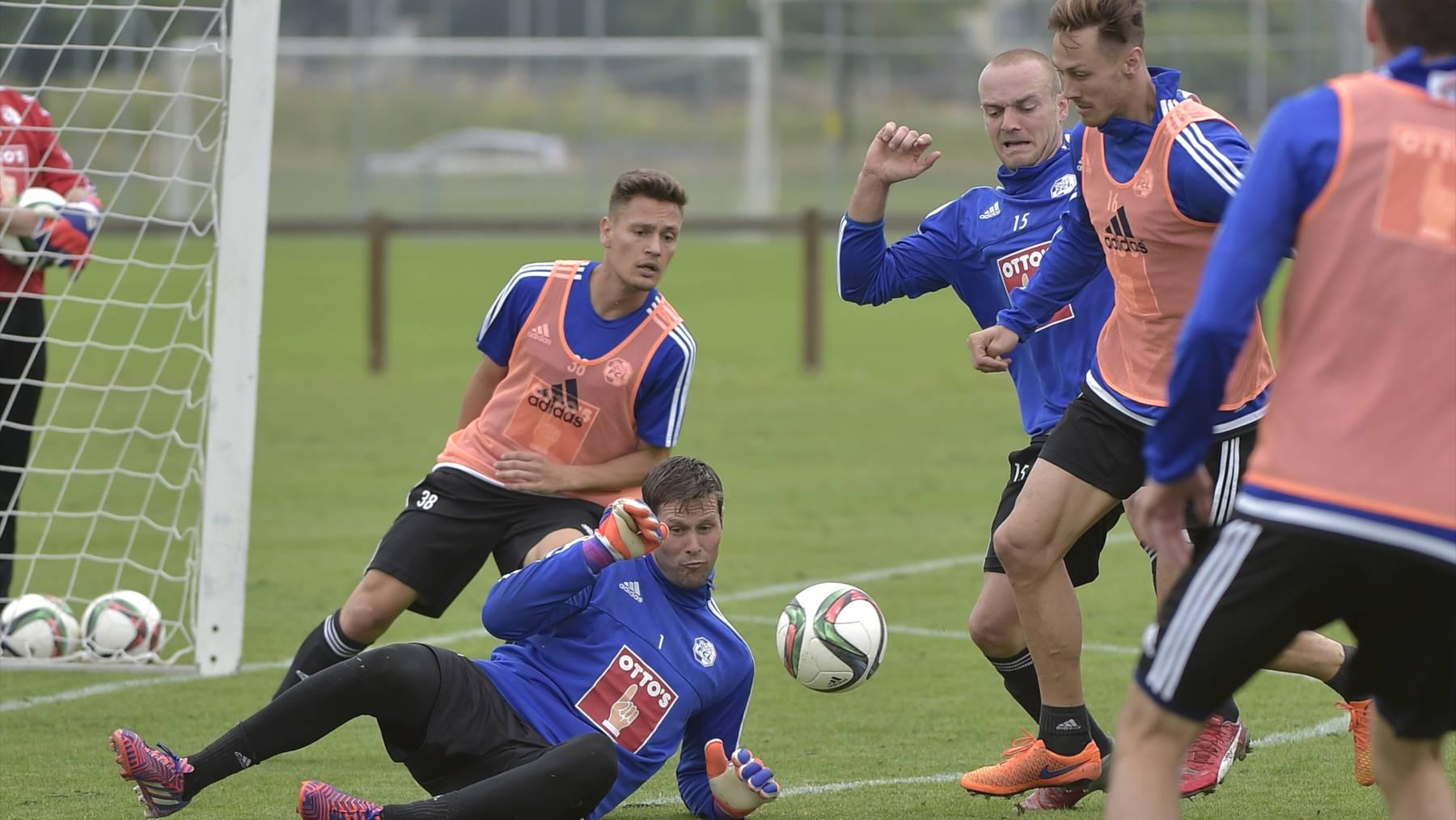 FC Luzern im Cup gegen Servette