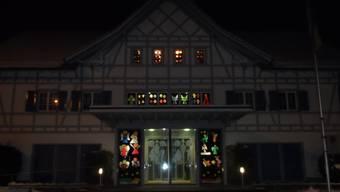 Gemeindehaus Weihnachtsbeleuchtung