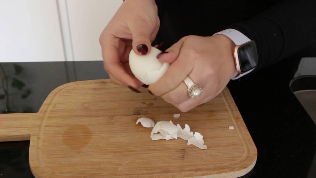 Eier einfacher schälen