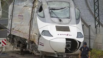Trauer in Spanien nach schwerem Zugunglück