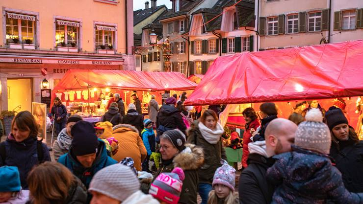 Der Chlausemäret in Solothurn findet in diesem Jahr nicht statt. (Archiv)