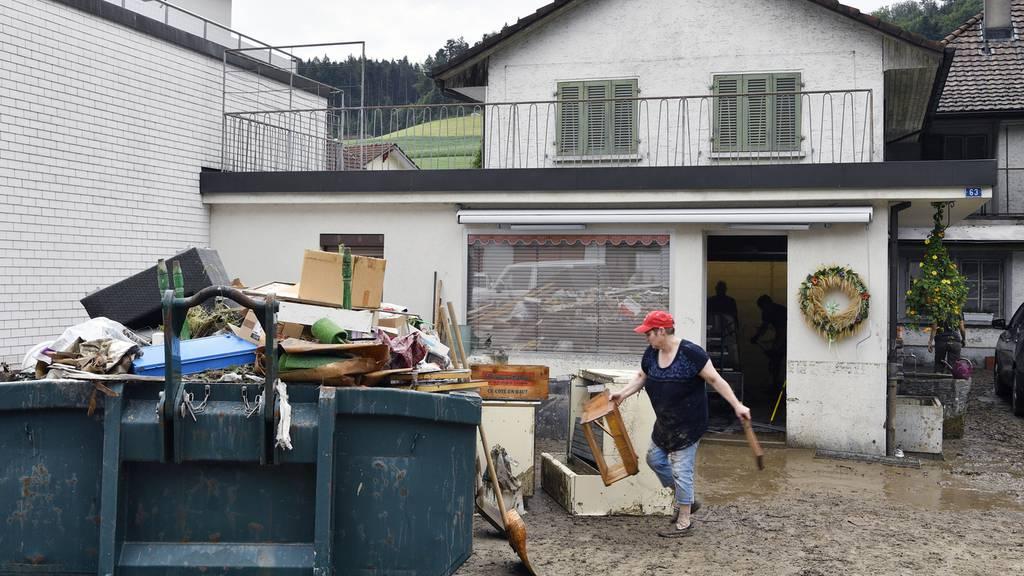 Bilanz: Unwetter in Zofingen