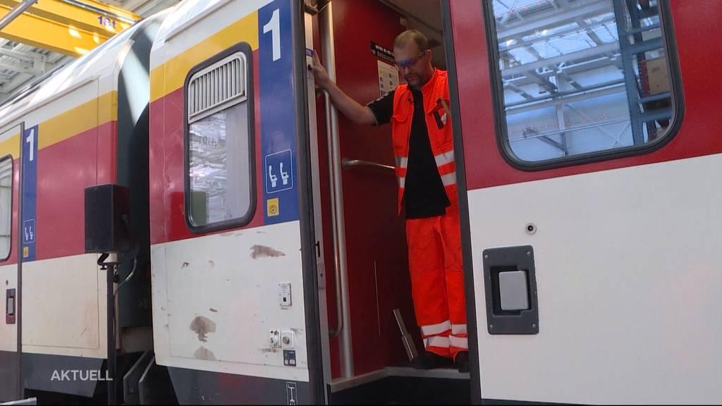 Die Sicherheit der SBB-Zugtüren