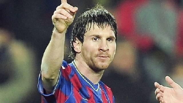 Lionel Messi Torschütze zum 3:0 gegen Valladolid