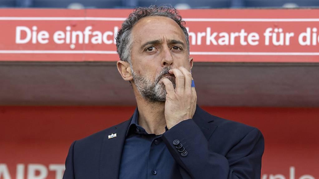 Massimo Rizzo und der FC Zürich finden sich im Abstiegskampf wieder