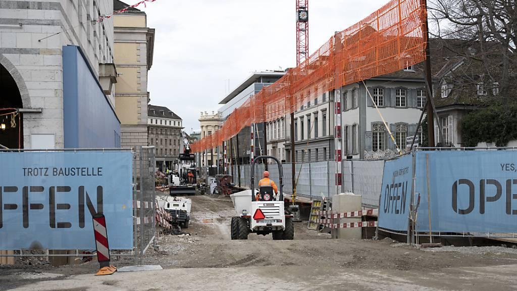 Im Baugewerbe zeichnet sich der tiefste Jahresumsatz seit 2015 ab