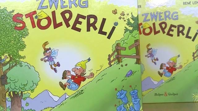 """""""Zwerg Stolperli"""" von Peach Weber"""