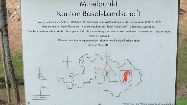 Das geografische Zentrum des Baselbiets bei Lupsingen wird 2016 auch zum Mittelpunkt des Performance-Preises.