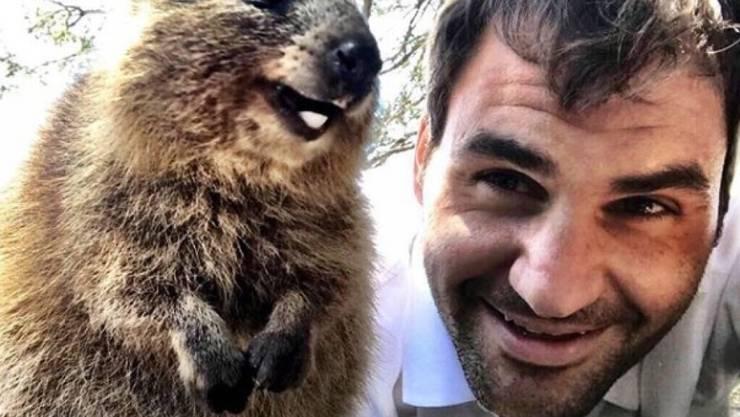 Roger Federer gönnt sich eine Auszeit (Archivbild).