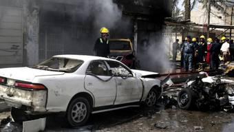 Fast alltägliches Bild im Irak: Anschläge mit Autobomben (Archiv)
