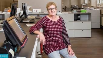 Eine Jugendherberge im ehemaligen GastroSocial-Gebäude einrichten? Warum nicht, findet Esther Schmid, Leiterin von «aarau info».