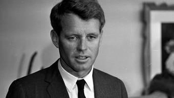 Der Mann, der am 5. Juni 1968 den US-Senators Robert F. Kennedy (im Bild) tötete, ist laut Medienberichten in einem Gefängnis in Kalifornien von einem Mitinsassen mit einem Messer verletzt worden. (Archivbild)