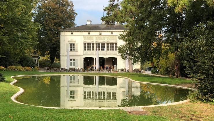 Die Villa Merian, eine Erholungsoase am Rand der Stadt Basel im Botanischen Garten