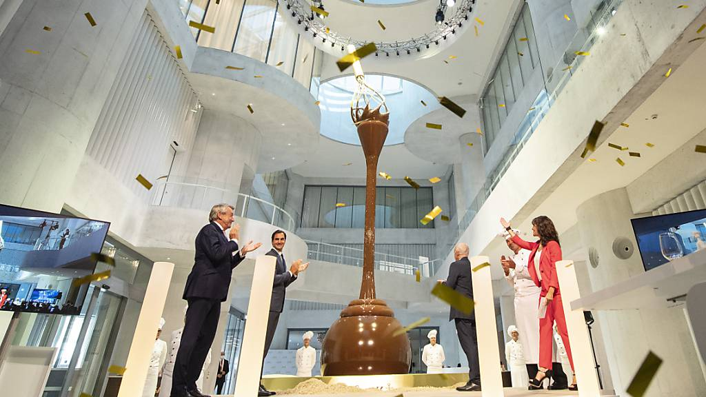 Lindt & Sprüngli weiht grösstes Schokoladenmuseum der Schweiz ein