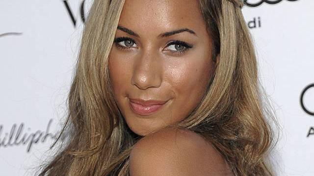 Die britische Sängerin Leona Lewis (Archiv)