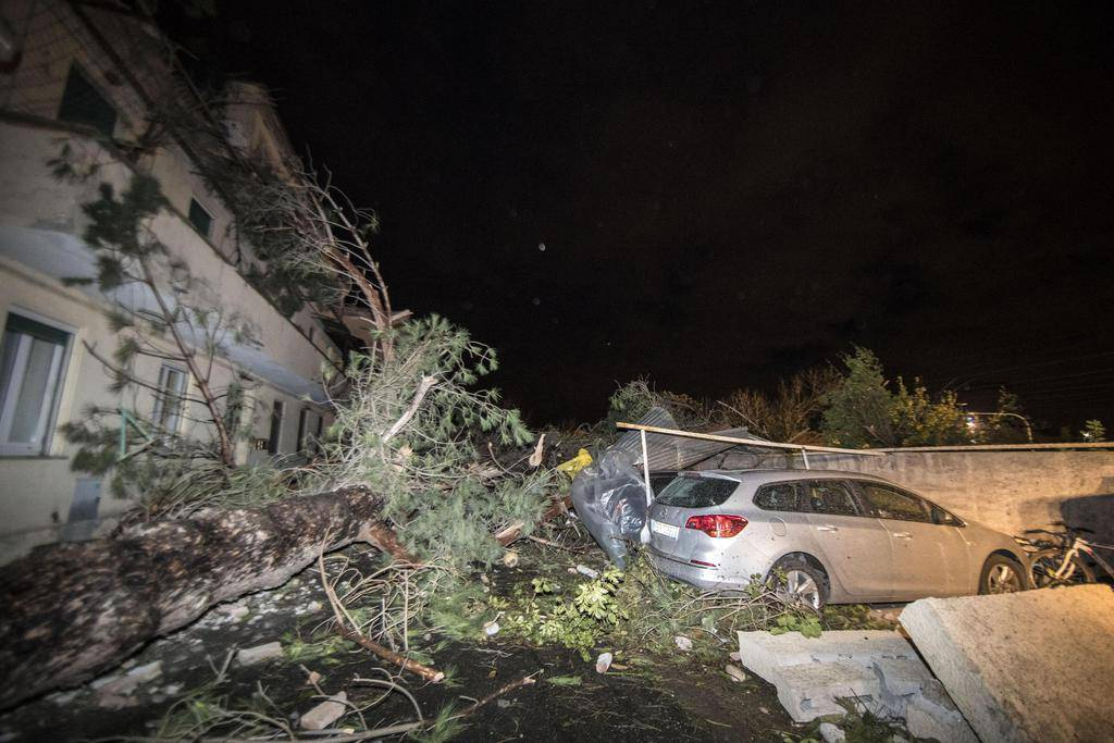 Tornado in Italien (© Keystone/EPA/Massimo Percossi)