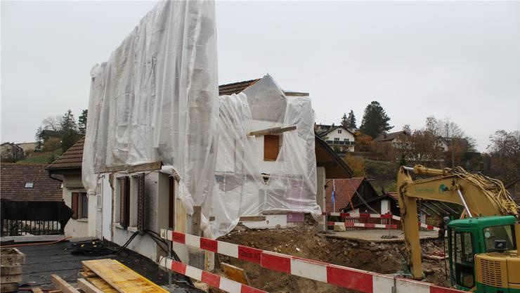 Obwohl von der «Auberge Passepartout» in Zeihen ausser der Baugrube noch nicht viel zu sehen ist, gibt es bereits die ersten Buchungen.