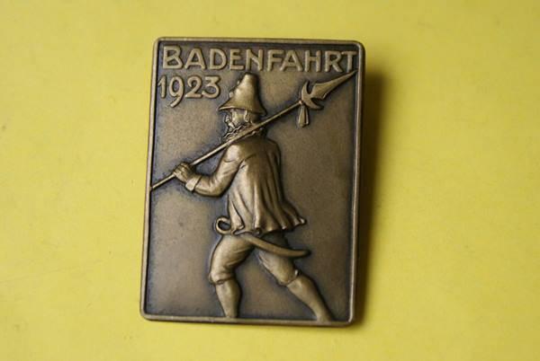 Badenfahrt 1923