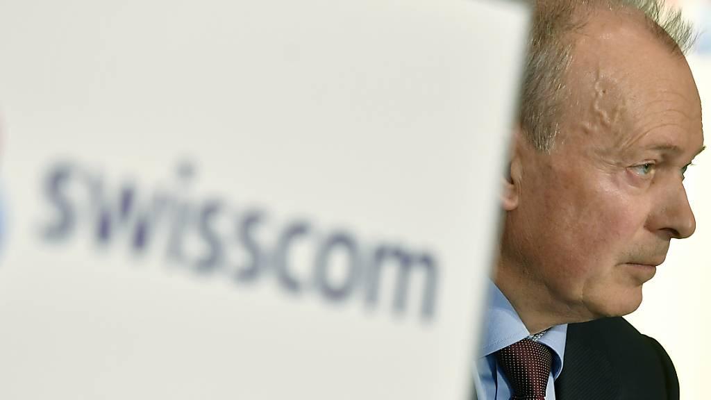 Swisscom-CEO Urs Schaeppi gehört zu den Spitzenverdienern bei den bundesnahen Unternehmen. Ihn dürfte der Lohndeckel besonders hart treffen, den die Staatspolitischen Kommissionen einführen wollen. (Archivbild)
