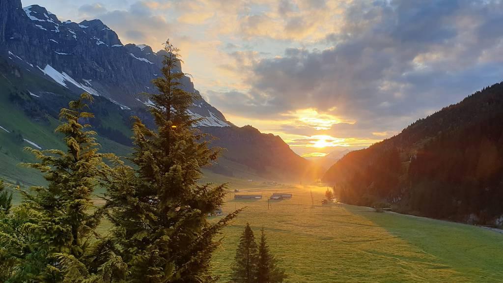 Hier zeigt sich der Kanton Uri von seiner schönsten Seite