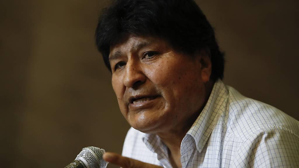 Berichte: Haftbefehl gegen Boliviens Ex-Staatschef Morales aufgehoben