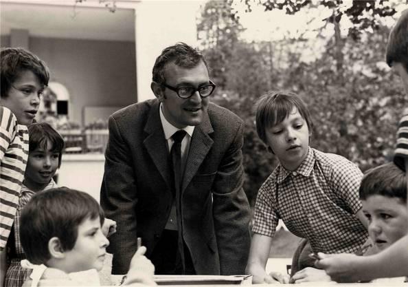 Anton M. Meier wurde 1968 zum Heimleiter gewählt.