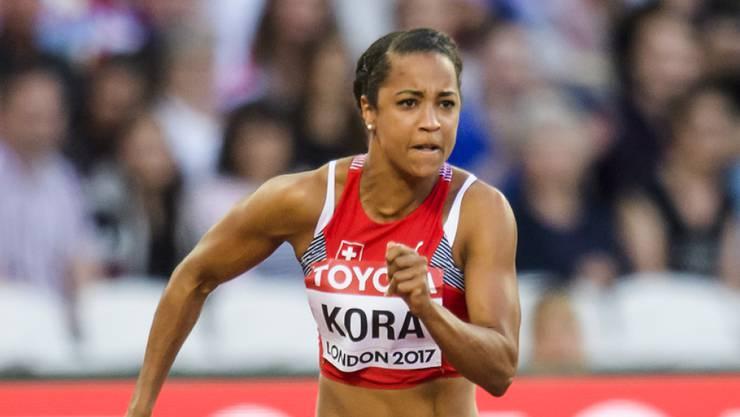 Holte an der Universiade die erste Schweizer Medaille: Sprinterin Salomé Kora