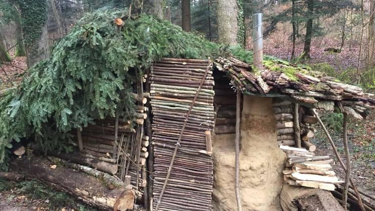 So sah die Hütte vor dem Brand aus.